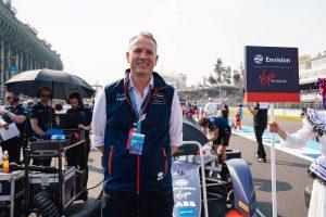 James Mercer of Envision Virgin Racing